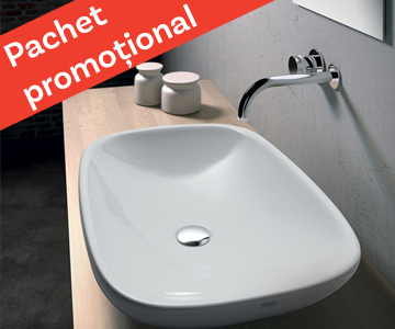 "Pachet ""Best Price for 2 Bathrooms"" – Olympia Ceramica Clear"