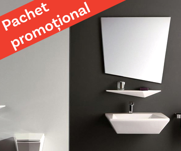 "Pachet ""My Dream Bathroom"" – Olympia Ceramica Crystal"
