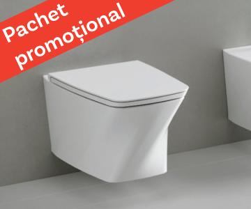 WC suspendat Azzurra Ceramica Hera + capac soft-close gratuit!