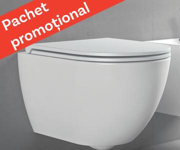 WC suspendat + capac soft-close – Azzurra Ceramica Comoda