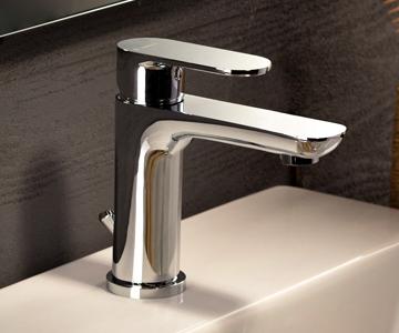 Baterie baie pe lavoar pentru hoteluri – Newform Extro