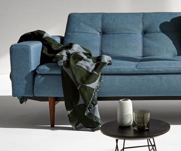 Canapea extensibilă Innovation Living Dublexo cu brațe